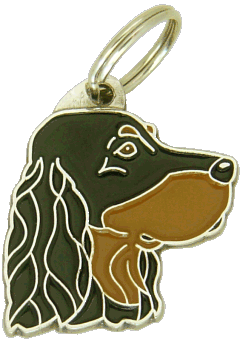 GORDON SETTER - pet ID tag, dog ID tags, pet tags, personalized pet tags MjavHov - engraved pet tags online